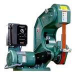 Burr King 760, 2 x 60 inch 3 Wheel Belt Grinder, Variable Speed