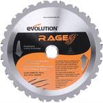 Evolution 7-1/4 inch Circular Saw Blade - Multi-Purpose